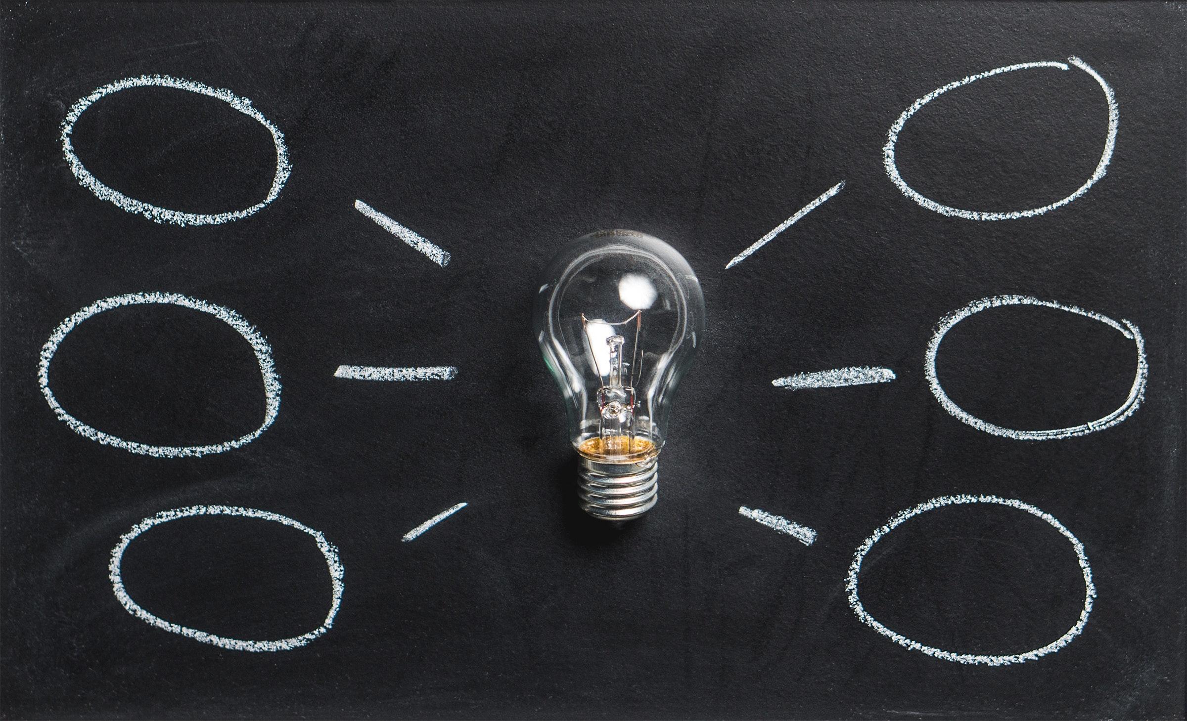 lamppu ja ajatuskuplia